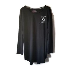 Victoria Secret nightgown sleepwear black sz S